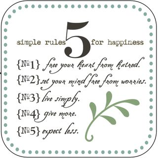 5 Simple Rules