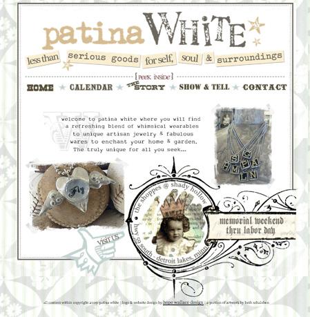 patina WHITE