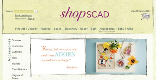 shop SCAD